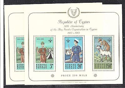 CYPRUS 1963 50th Anniv. of Scout movement 2 - 99137