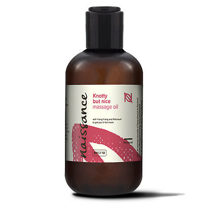 Naissance Knotty But Nice Massage Oil 250ml
