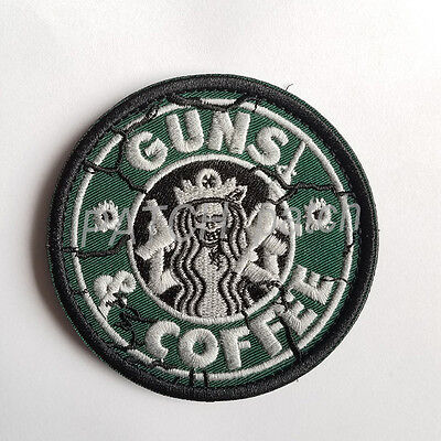 Star Wars Coffee Military Tactical Army Morale Badge Embrodiered Hook Patch /01