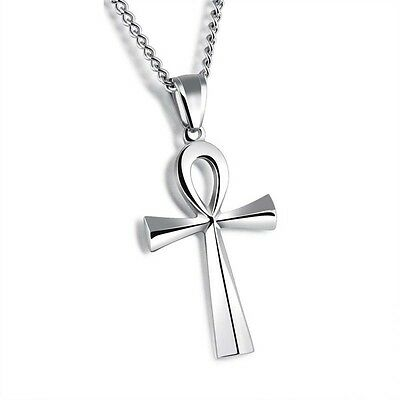 Cross Hip-hop Ancient Ankh Egyptian Symbol Of Life 316L Surgical  Steel Pendant