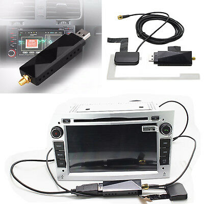USB DAB+ Digital Radio Receiver Stick Dongle Antenna For Android Car DVD Player