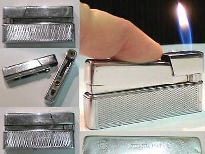 Briquet Ancien # Silver Match Convertible # Vintage Lighter Feuerzeug accendino