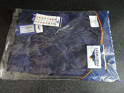"Portwest Wakefield Trousers Navy Color Size 30"" Leg 31"""