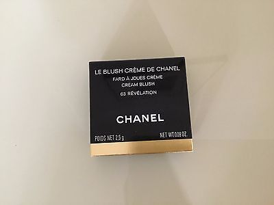 Chanel Le Blush Crème de Chanel (Cream Blush) colour 63 Revelation - New