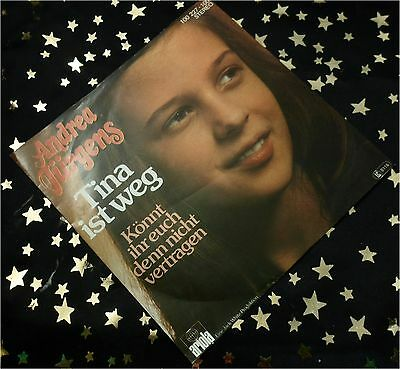 ANDREA JÜRGENS - Tina ist weg * KULT 1978 * TOP SINGLE (M-:) im TOP COVER