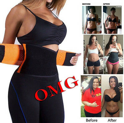 HOT Women's Waist Cincher Trainer Girdle Corset Gym Workout Sport Shaper Belt