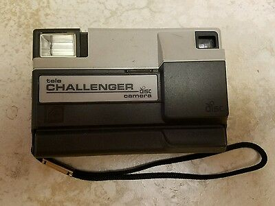 Vintage KODAK Tele Challenger Disc Camera, Made in U.S.A.