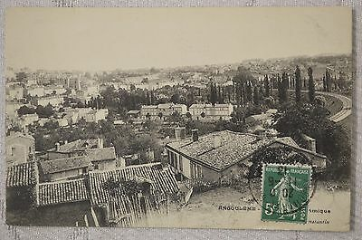 """CPA  """" ANGOULEME - Vue pamoramique"""