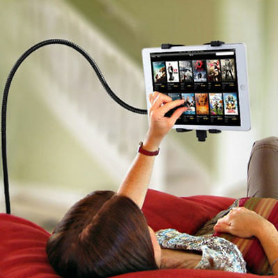 360° Flexible Lazy Tablet Holder, iPad Rotation Stand - Adjustable Clamp Clip