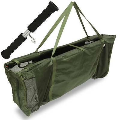 Carp Floating Weighing Sling Deluxe Fishing Sling With Weigh Bar Ngt 286