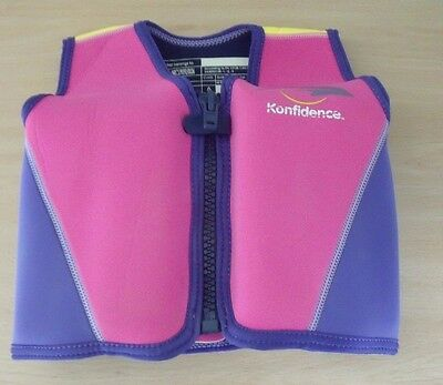 Original Konfidence Pink Swimming/Buoyancy Jacket Class B up to 25 kg