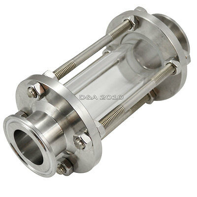"1.25"" 32MM  Flow Sanitary Sight Glass Tri Clamp Type Stainless Steel SS316 New"