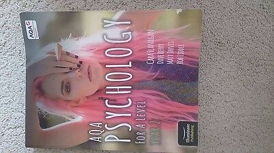 AQA Psychology For a level year 2 textbook