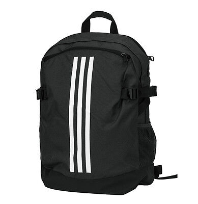 901549dd744d adidas Power IV Backpack Medium Black Casual Back to School Laptop Sports  BR5864