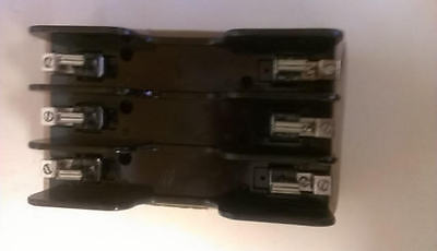 61008R Ferraz Shawmut 3 Pole Fuse Block - Lot of 5 / 600V 100amp Class R