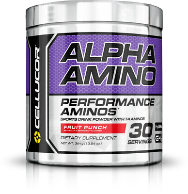 Cellucor Alpha Amino Intra Post Worrkout BCAA Recovery 384g