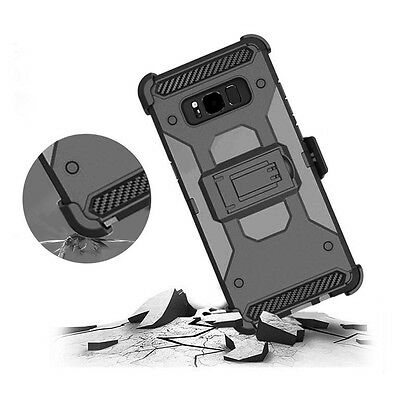 For Samsung Galaxy Note 8 Shockproof Hybrid Military Armor Back Cover Stand Case
