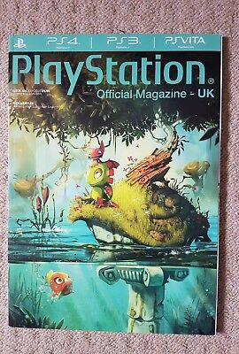 Official PlayStation Magazine Yooka Laylee Limited Edition Subscriber Jul 16