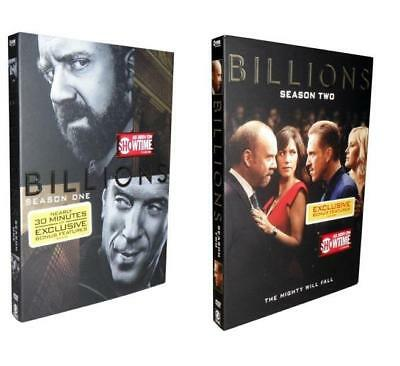 Billions - The Complete Seasons 1 & 2 (DVD, 2017, 8-Disc Set)