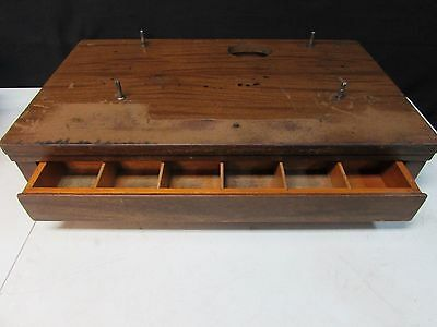 Vintage / Antique National Cash Register Box / Base And Drawer