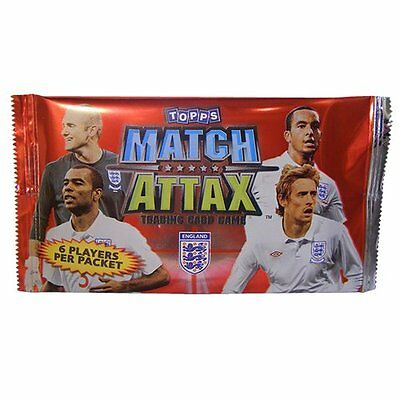 Topps Match Attax England Single Booster Packet