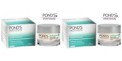 2 X Ponds Institute Thermal Therapy Derma Hydrating Day Cream For Dry Skin 50Ml