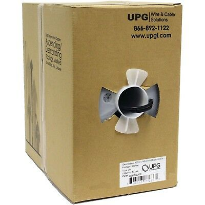 UPG 77286 CCTV Siamese RG59 Cables & 2-Conductor Copper-Covered Aluminum Powe...