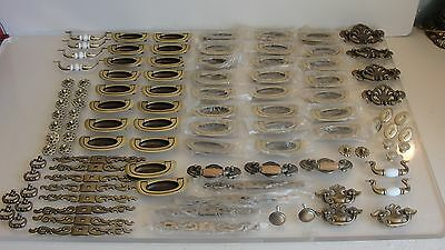 Large Lot Of 106 Dresser Drawer Pulls Hardware Handles Most New Furniture