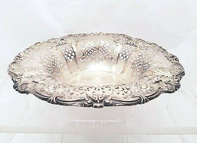 Gorham Sterling Pierced Center Bowl