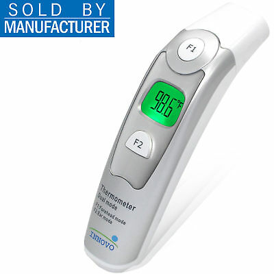 Innovo EF100 Forehead and Ear Digital Thermometer Fever and Temperature Alert