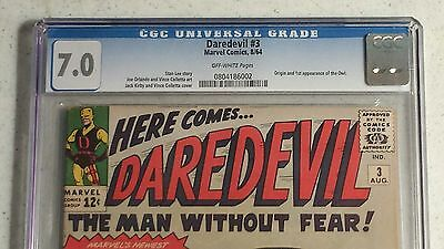 1964 Daredevil #3 CGC 7.0 !st Appearance of the Owl