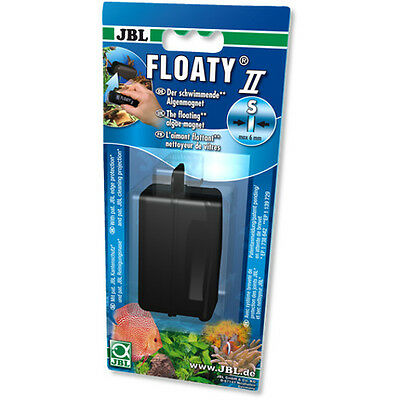 JBL Floaty II S Small Floating Algae Magnet Cleaner for Aquarium Fish Tank 6mm