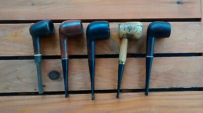 Vintage Estate Tobacco Smoking Pipes Lot Cellini Crown Duke Dr Grabow
