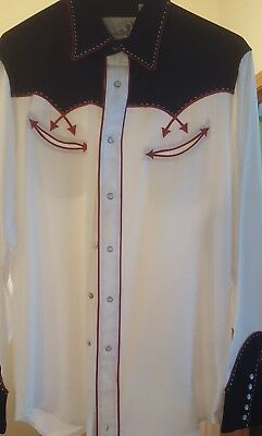 Men's Roper Western Shirt Large