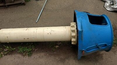 """Layne Northern 10"""" Vertical Turbine Pump Discharge Head Bowl Drhc T304 Top Joint"""