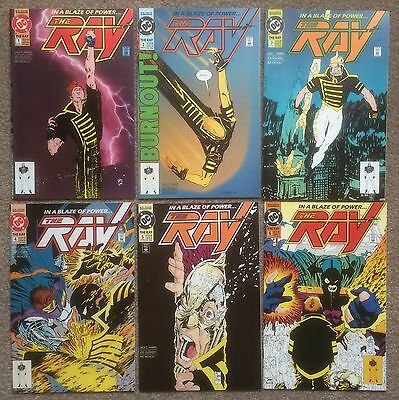 The Ray #1 2 3 4 5 6 Complete Series DC Comics 1st Appearance Origin Joe Quesada