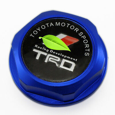 New M37x3.0 Thread TRDN Engine Oil Filler Cap Cover For LEXUS SCION TOYOTA Blue