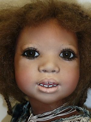 Annette Himstedt's PORCELAIN ORJO  1997 LE 1/76  Amazingly Real, Stunning Piece