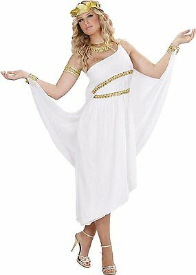 Greek Goddess Costume Large for Toga Party Rome Sparticus Fancy Dress