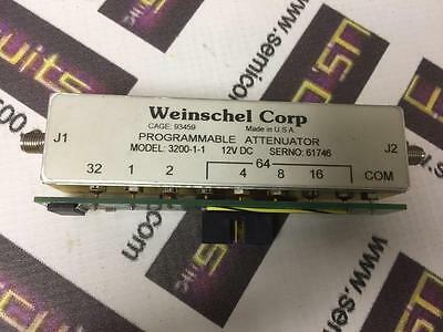 Weinschel 3200-1-1 Programmable Attenuators with TTL Driver 10pin w/101-1705-000