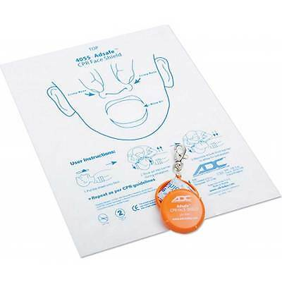 Adsafe CPR Face Shield Keychain, with or without airway valve