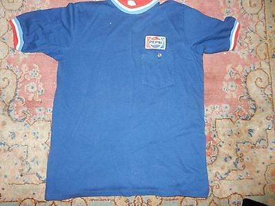 Vintage Pepsi Delivery Driver Work Shirt Size medium