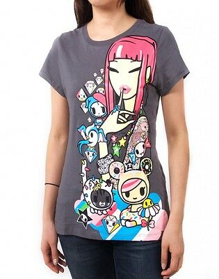 NEW Tokidoki Candy Sandy Cactus Women Junior Green T-shirt WBTE06124 US Seller