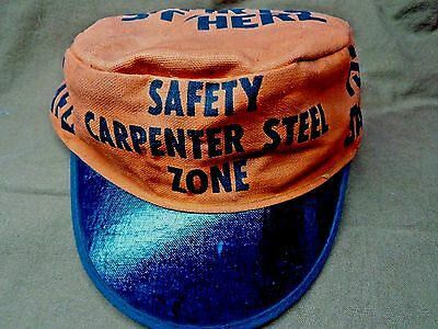 Carpenter Steel Safety Zone Cap Reading Pa.
