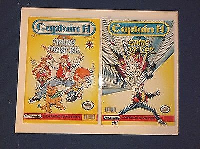 Nintendo Comics System Captain N The Game Master No.1 and No.3