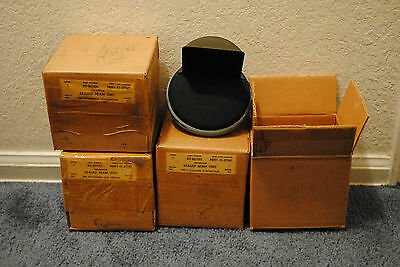 X10 Corcoran Brown Blackout Lights 6 volt Black Out Lamp Military In Box