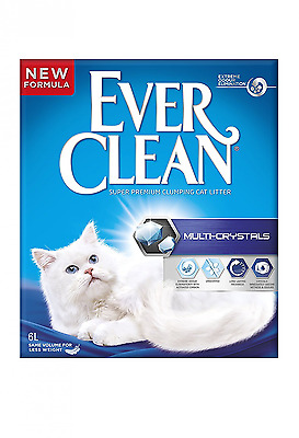 Ever Clean Multi-Crystals Cat Litter, 6 Litre