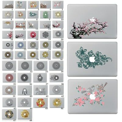 "New Flower Series Laptop Skin Sticker Decal For Macbook Air Pro Retain 11""13""15"""