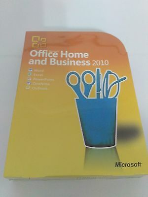 MICROSOFT OFFICE HOME AND BUSINESS 2010 Product Key Card+DVD 1 PC