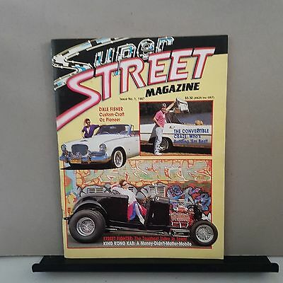 Super street magazine issue no.1 collectors edition 1987.hot rods. Street cars